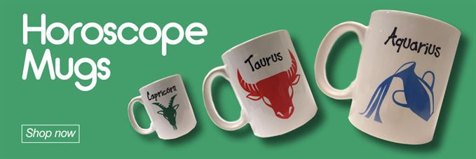 View our range of Galaxy Xtra Horoscope Mugs