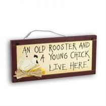 Young Chick - Mini Magnetic Plaque