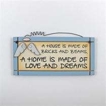 Love and Dreams - Mini Magnetic Plaque