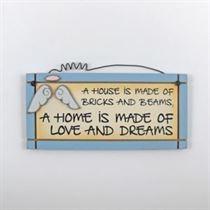 Love and Dreams - Mini Magnetic Plaque