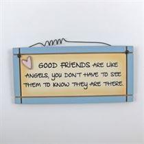 Good Friends - Mini Magnetic Plaque