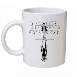 Eleven Silhouette Stranger Things Mug