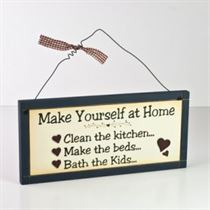 Make Yourself At Home - Wooden Plaque