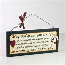 May God Grant You - Wooden Plaque
