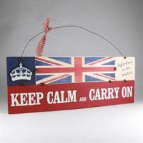 Keep Calm Plaque - Wooden Plaque