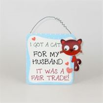 Cat For My Husband - Pet Hangers