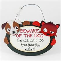 Beware Of Dog - Pet Hangers