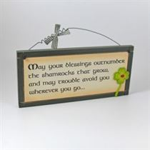 Blessings - Irish Plaque