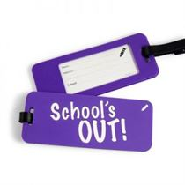 School's Out - School Tags (Pack Of 2)