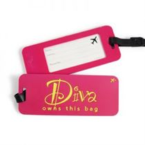 Diva - Luggage Tags (Pack Of 2)