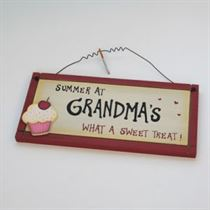 Sweet Treat - Home Plaque