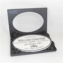 Roller Coaster - Ceramic Sign