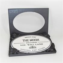The Moon - Ceramic Sign
