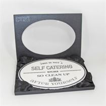 Self Catering - Ceramic Sign
