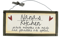 Nana's Kitchen - Sweet Sentiments Plaque