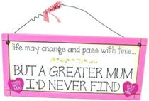 A Greater Mum - Sweet Sentiments Plaque