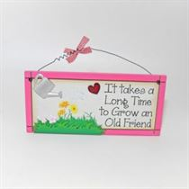 Old Friend - Sweet Sentiments Plaque