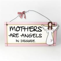 Mothers Are Angels - Sweet Sentiments Plaque