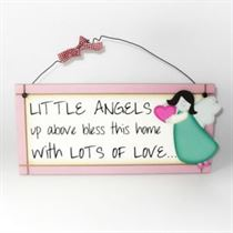 Little Angels - Sweet Sentiments Plaque