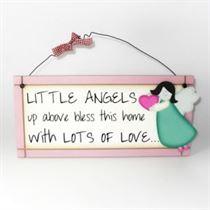 Little Angels - Sweet Sentiments Plaque