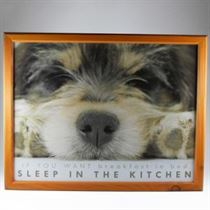 Sleep in the Kitchen - Padded Lap Tray