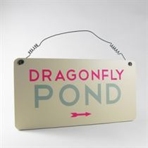 Dragonfly Pond - Garden Plaque