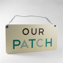 Our Patch - Garden Plaque