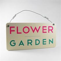 Flower Garden - Garden Plaque