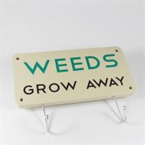 Weeds Grow Away - Garden Hanger