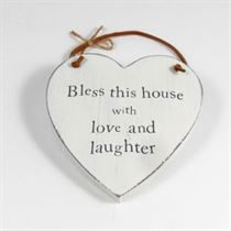 Bless This House - Heart Hangers