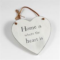 Home Is Where The Heart Is - Heart Hangers