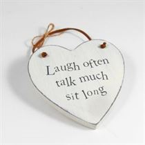 Laugh Often - Heart Hangers