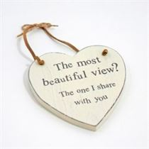 Beautiful View - Heart Hangers