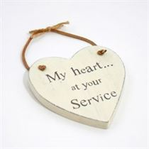 Heart At Your Service - Heart Hangers