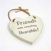 Friends Bearable - Heart Hangers