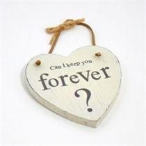 Forever - Heart Hangers