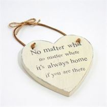 No Matter What - Heart Hangers