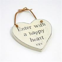 Happy Heart - Heart Hangers