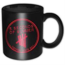 5 Seconds of Summer Depring Stamp Boxed Mug - Music and Media