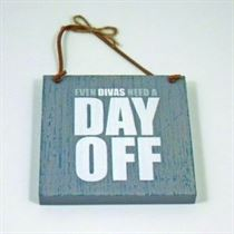 Divas Day Off - Wooden Hangers
