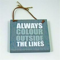 Always Colour - Wooden Hangers