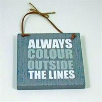 Always Colour - Wooden Hangers