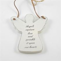 Angels Capture Love - Angel Wooden Hanger