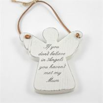 If You Don't Believe - Angel Wooden Hanger
