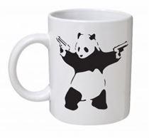 Banksy - Panda Mug