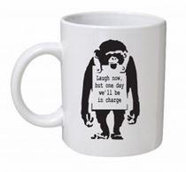 Banksy - Laugh Now... Mug