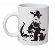 Banksy - Hip Hop Rat Mug