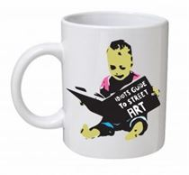 Banksy - Idiots Guide To Street Art Mug