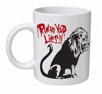 Banksy - Run For Your Lives Mug
