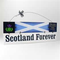 Scotland Forever - Wooden Scottish Plaque